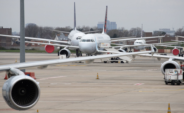 Brussels Airport en skeyes voeren testen uit met drones