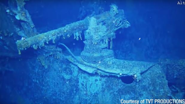 L'épave d'un navire disparu durant la Première Guerre mondiale retrouvée