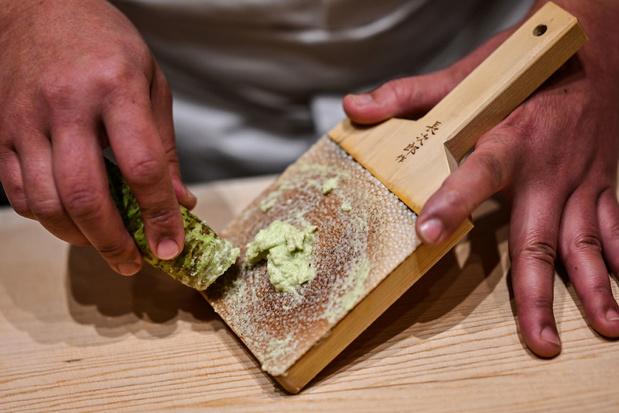 Vous pensiez manger du wasabi, cet or vert de la cuisine japonaise? (en images)