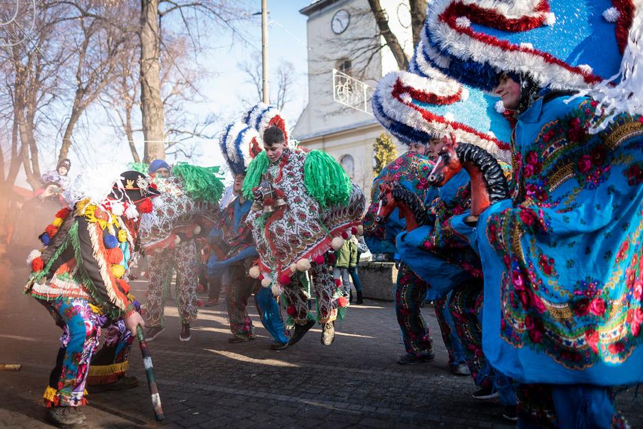 En images: les Dziady de Zywiec, une tradition du patrimoine culturel polonais pour la nouvelle année