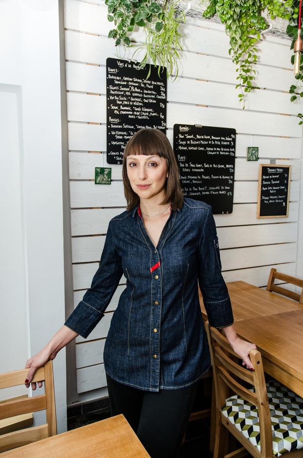 """Florence D'Avino (La Popote): """"Ce sentiment de donner, grâce à la cuisine"""""""