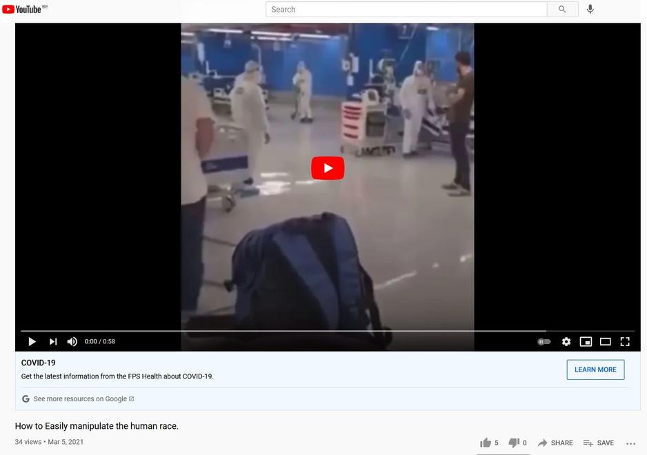 Factcheck: nee, deze video bewijst niet dat overstelpt ziekenhuis in scène is gezet