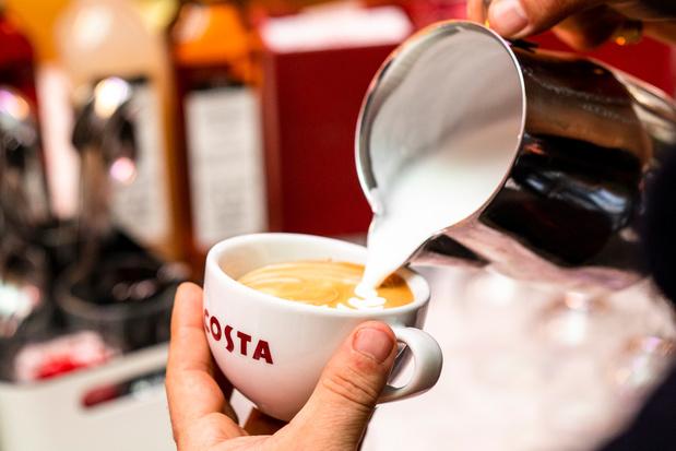 Costa Coffee komt naar België