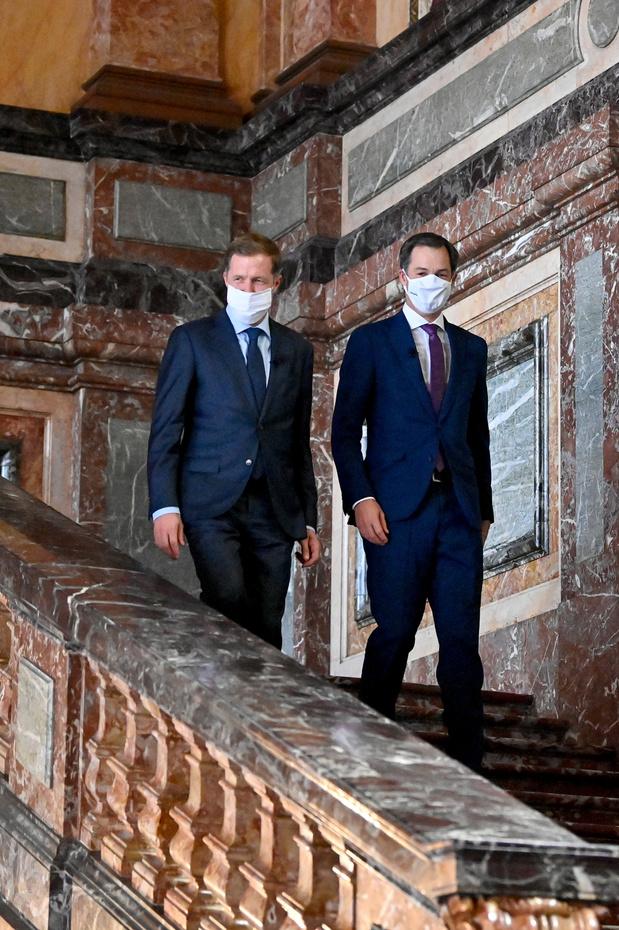 """""""La Belgique émerge de la crise"""": le gouvernement Vivaldi vu de France"""