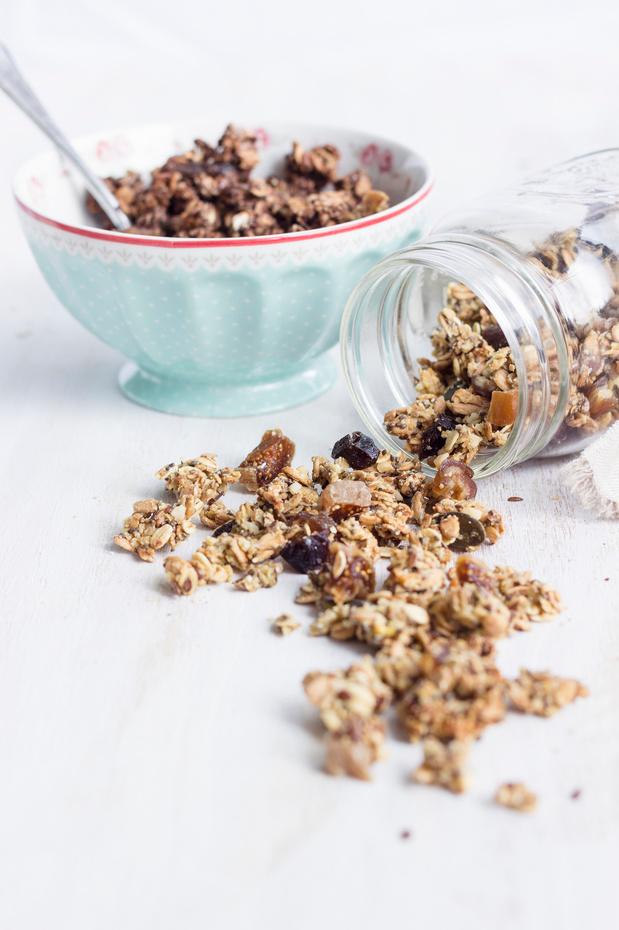 Recette du Granola aux dattes et aux graines de courge