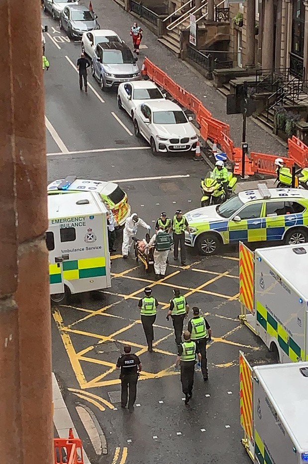 Un suspect tué lors d'une attaque à Glasgow qui a fait six blessés