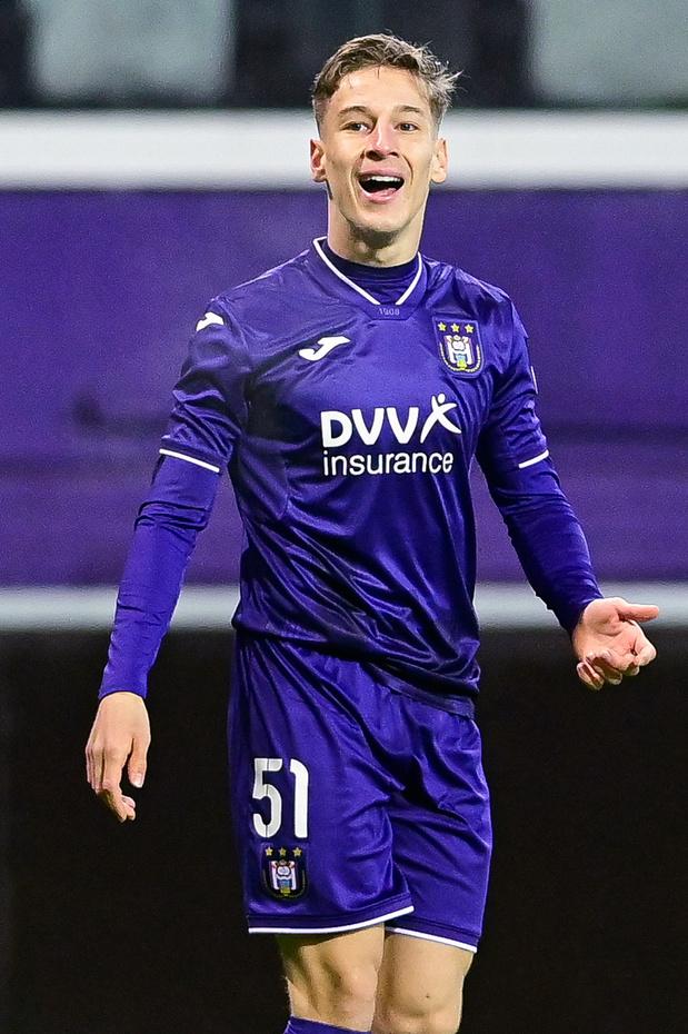 Yari Verschaeren a repris les entraînements avec Anderlecht