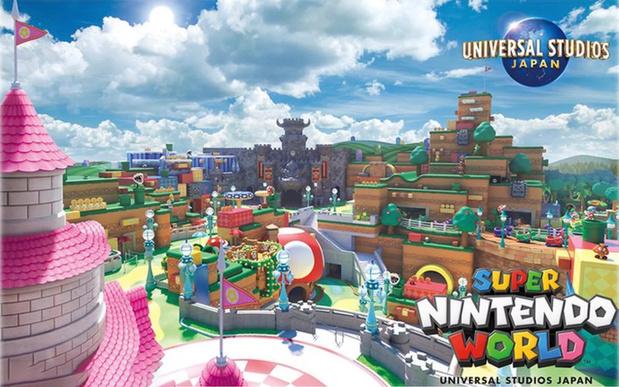 Nintendo ouvrira en 2021 un parc d'attractions au Japon