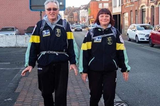 Ronny en Marijke wandelden samen al ruim 100.000 kilometer