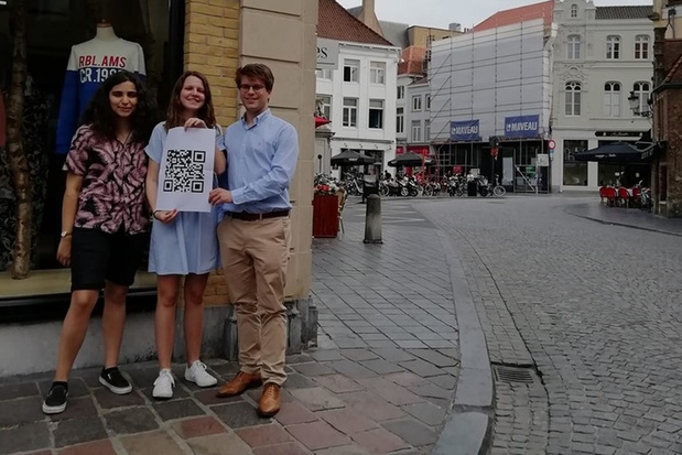 Jong CD&V Brugge wil augmented reality-technologie gebruiken bij straatnaamborden