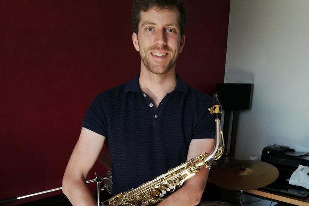 """Hoe gaat het met beloftevolle Desselgemse saxofonist Pieter Delaere? """"Keuze van mijn hart"""""""