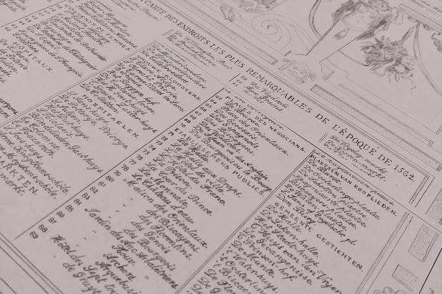 Luc Dusauchoit tekent kaart van Marcus Gerards na op 63 bladen