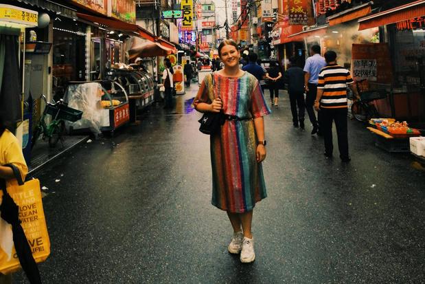 Lichterveldse Laure studeert in Zuid-koreaanse hoofdstad Seoul
