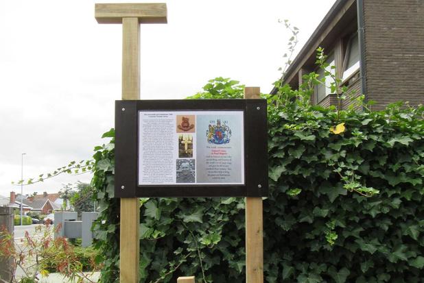 Gedenkplaat voor 75 jaar geleden gesneuvelde soldaat in Stasegem