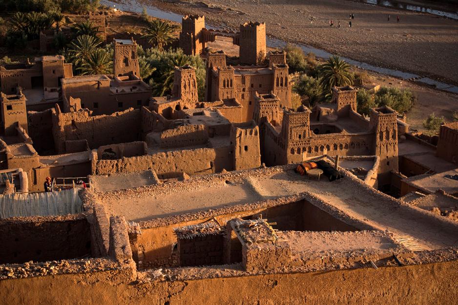 Le village marocain d'Aït-ben-Haddou, décor de cinéma, en quête de célébrité