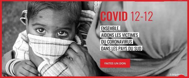 Covid12-12 : un appel de solidarité aux pays du sud