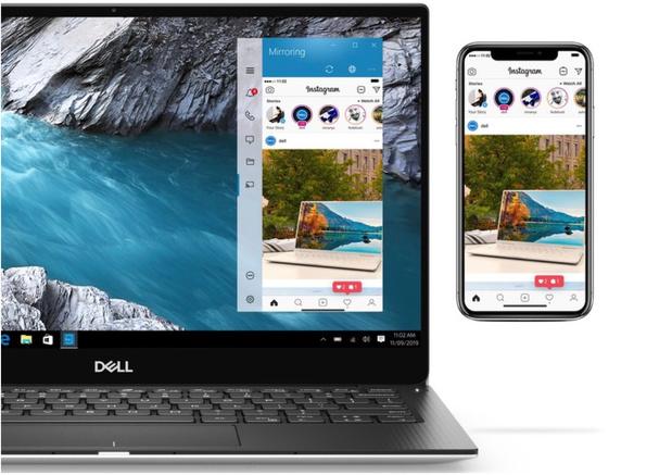 Dell permet à l'utilisateur de commander son ordinateur portable via l'iPhone