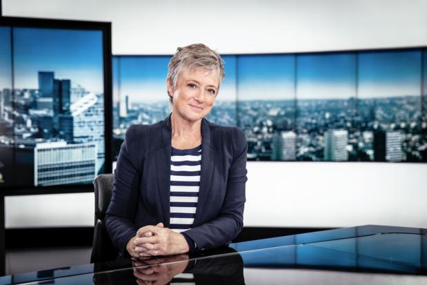 Martine Tanghe ontvangt Grote Prijs Jan Wauters in haar allerlaatste Journaal
