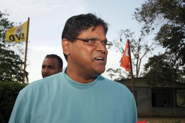 Chan Santokhi gekozen tot president van Suriname