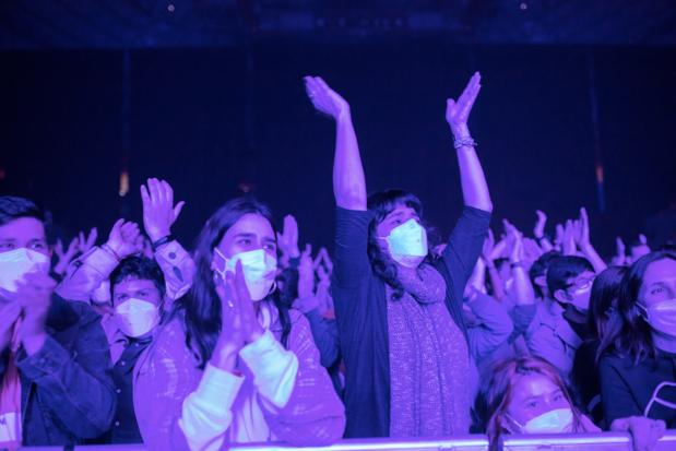Geen aanwijzing voor besmettingen bij testconcert met 5.000 mensen in Barcelona