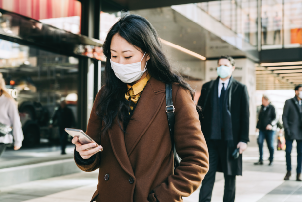 'Alleen nog met een mondmasker buitenkomen tijdens het griepseizoen kan ook bij ons normaal worden'