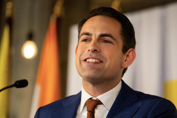 Parket vraagt proces-verbaal voor Van Grieken nadat hij pepperspray bovenhaalde in VTM-studio