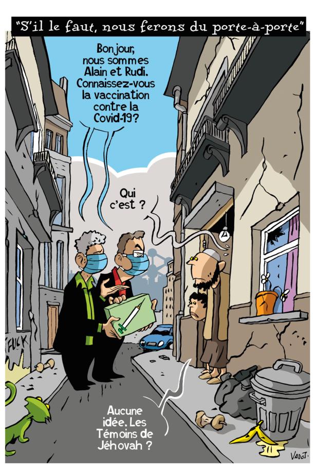 Le Vadot de la semaine sur la vaccination à Bruxelles