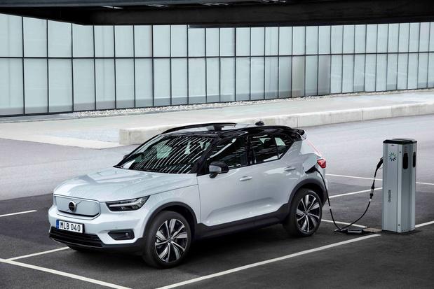 Volvo Gent start productie elektrische XC40