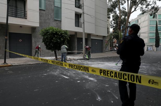 Vier doden bij zware aardbeving in Mexico