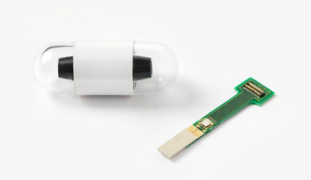 L'imec intègre un radio-émetteur dans une pilule pour effectuer des mesures corporelles
