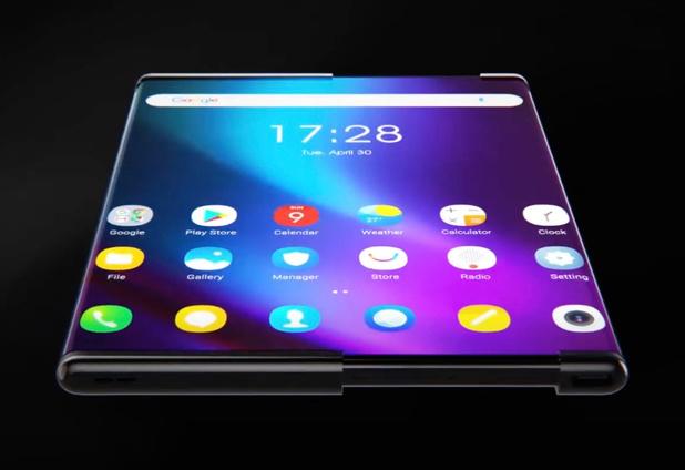 'Samsung onthult in 2021 telefoon met oprolbaar scherm'