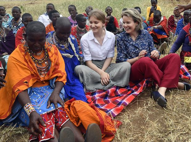 La princesse Elisabeth s'exprime pour la première fois devant la presse