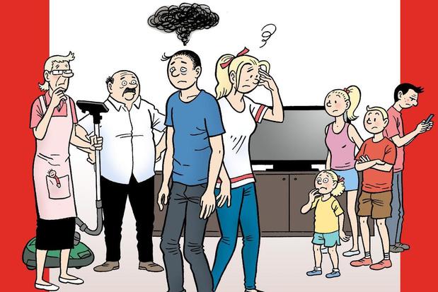 Brugse striptekenaar Tom Bouden maakt parodie op Suske en Wiske
