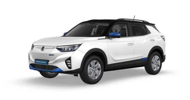 SsangYong lance la production de son premier SUV électrique