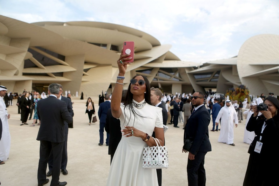 En images: l'ouverture en grande pompe et très VIP du Musée du Qatar à Doha