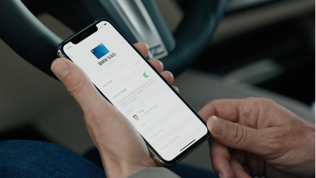 Apple maakt van iPhone een digitale autosleutel