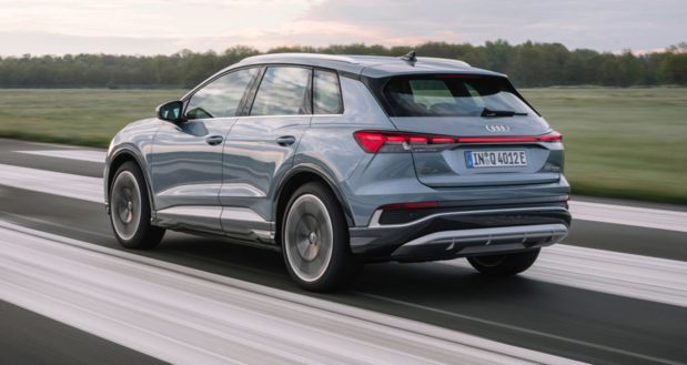 Gamma Audi Q4 e-tron groeit