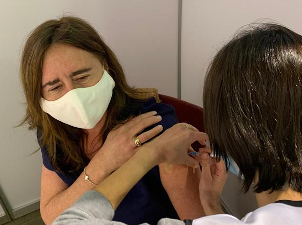 Proficiat, je bent gevaccineerd!