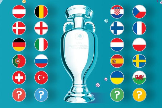 Welke landen gaan naar EURO 2020?