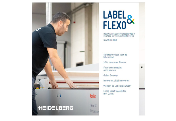 Label & Flexo: launch nieuw magazine