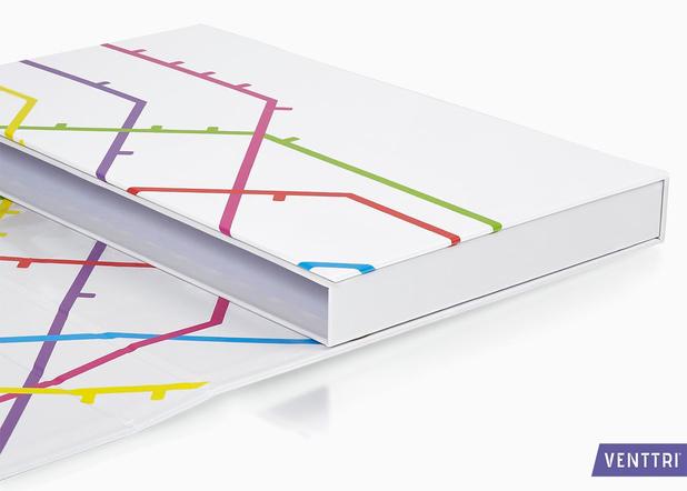 Bedrukte doosbanden: bijzondere presentatie van losbladige documentatie