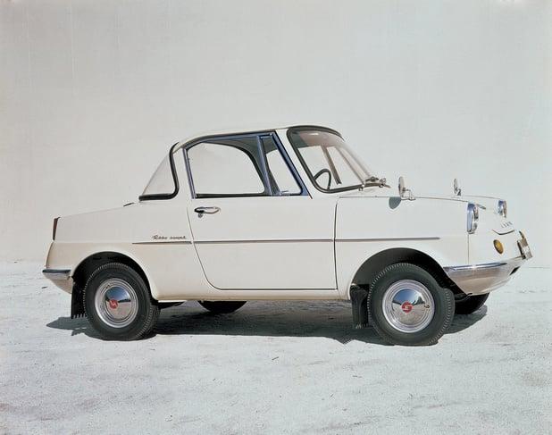 Mazda viert zestigste verjaardag R360 Coupé