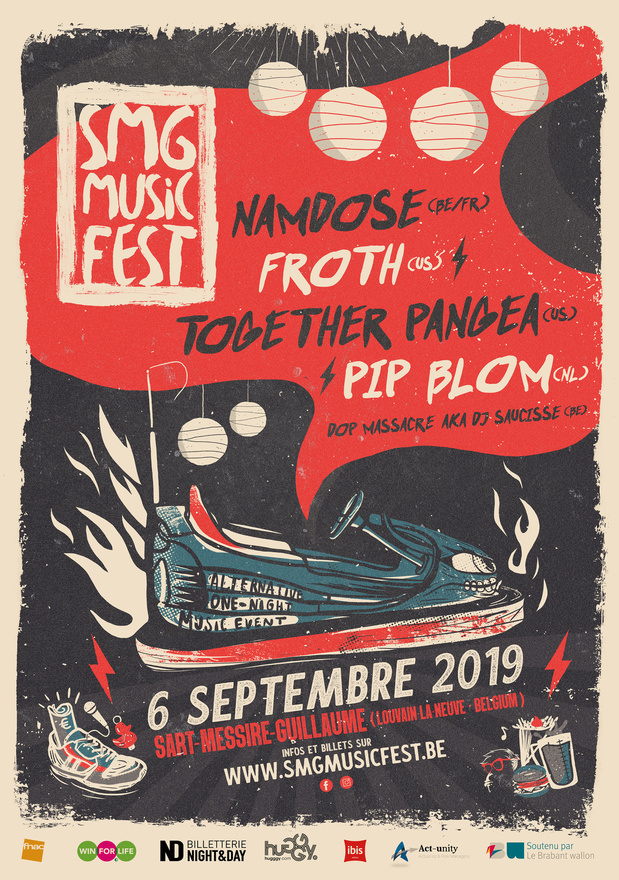"""SMG Music Fest, """"la kermesse punk du Brabant wallon"""""""