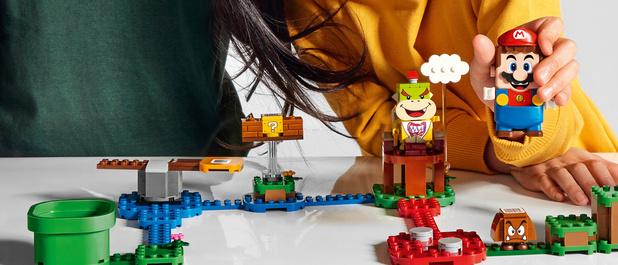 Nintendo et Lego lancent un jeu de construction Super Mario interactif
