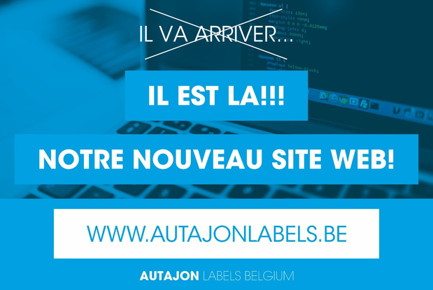 Tant d'innovation chez Autajon Labels Belgium !