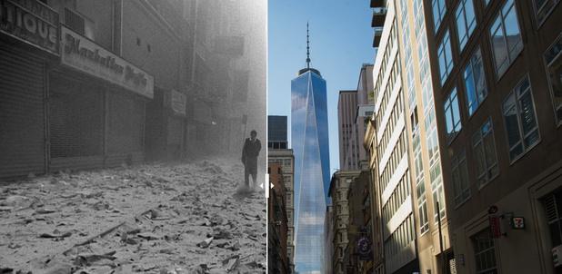 20 ans après le 11 septembre, les lieux des attentats ont bien changé (images)