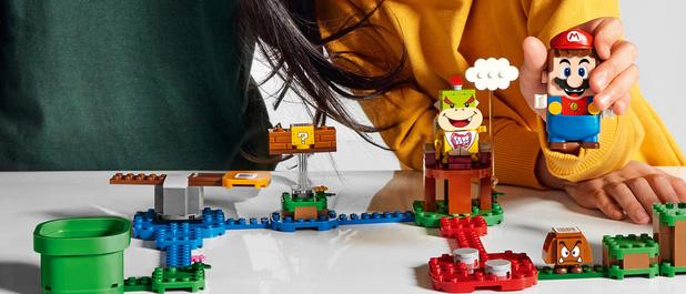 Nintendo en Lego brengen interactieve Super Mario bouwset uit