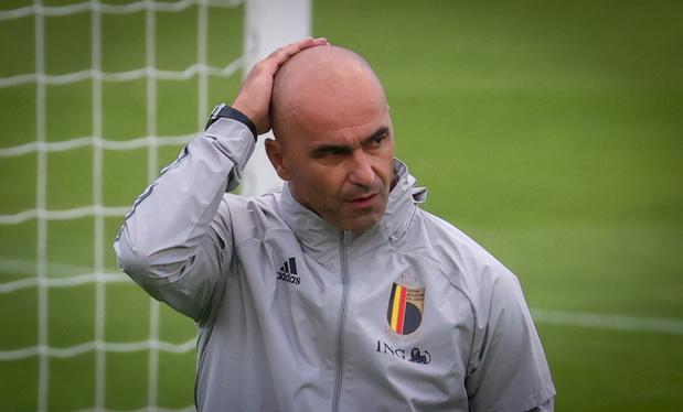 Roberto Martinez, porte-parole d'une campagne sur la santé mentale des footballeurs