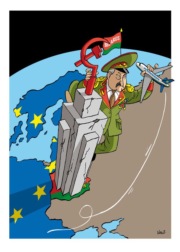Les compléments de Vadot: la Biélorussie, Jürgen Conings et la malbouffe