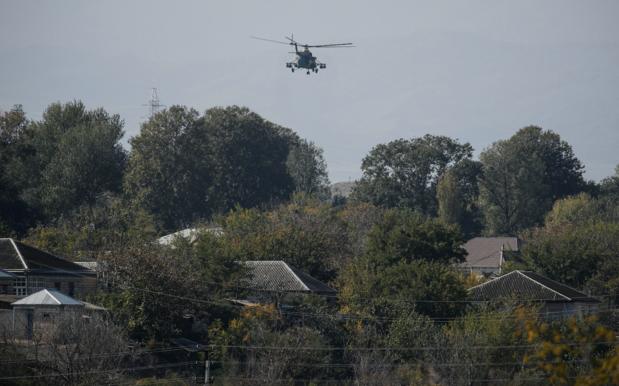 Azerbeidzjan schiet per ongeluk Russische legerhelikopter neer in Armenië
